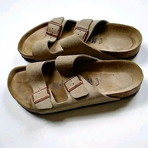 BIRKENSTOCK SOFT LEATHER TABACO BROWN 👟 SIZE 42